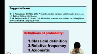 Mod-01 Lec-01 Definition Of Probability Measure And Conditional Probability