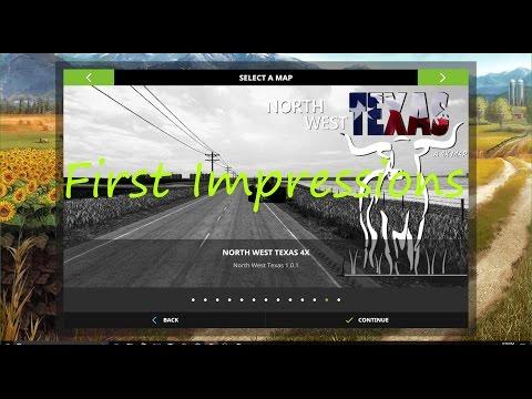 Farming Simulator 17 - First Impressions - North West Texas