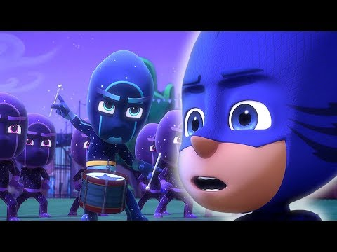 Герои в масках - Бей в барабан, Кэтбой - мультики для детей (видео)