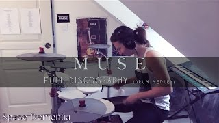 MUSE - Full Discography // Drum Cover (Medley)
