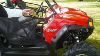 7. Overview of changes made to the 2011 Polaris RZR S