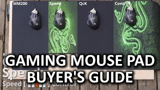 Mouse Pad Buyer's Guide for Gamers