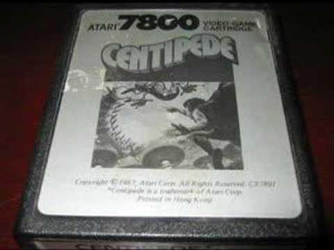 Classic Game Room - CENTIPEDE for Atari 7800 review