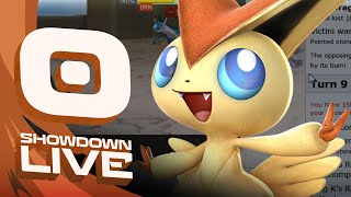 Pokemon OR/AS! OU Showdown Live w/PokeaimMD! - Ep 53: CB VICTINI! by PokeaimMD