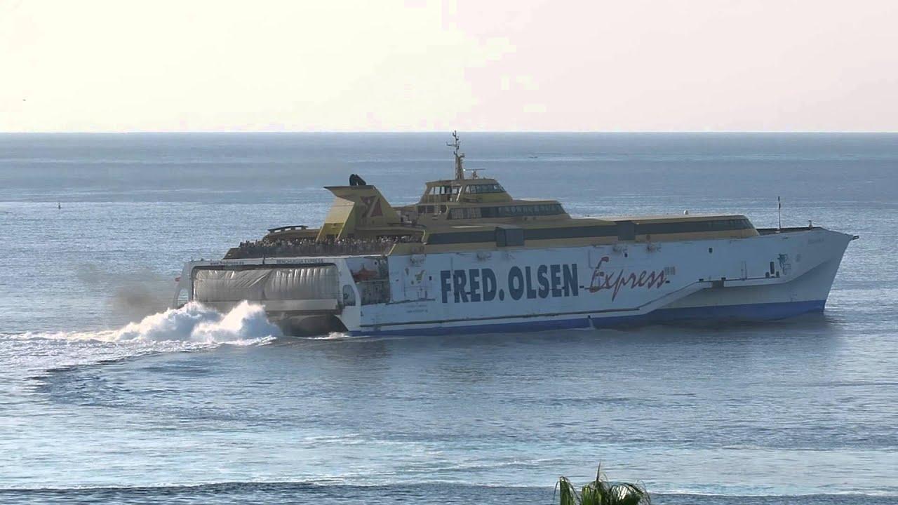 Teneriffa - VIDEOMATKA: Los Cristianoksesta<br /> laivalla La Gomeran upeaan maailmaan