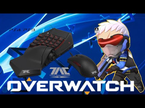 Overwatch (PS4) competitive #7 Hori Tac Pro Zarya/Soldier 76