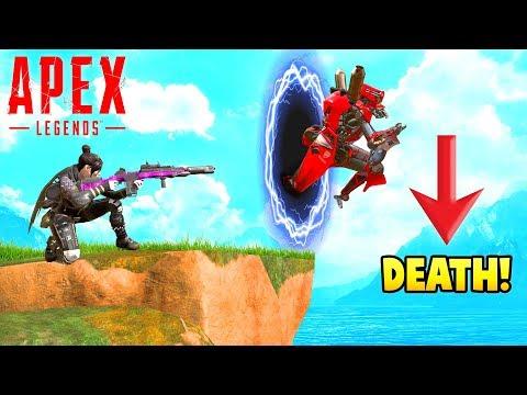 Funny clips - APEX LEGENDS PORTAL TROLL! (Funny & Epic Moments #4)