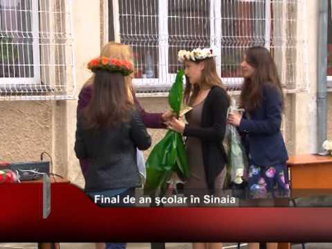 Final de an şcolar în Sinaia