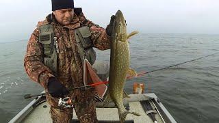 Рыбалка 2015: Ловля щуки зимой по открытой воде от Михалыча