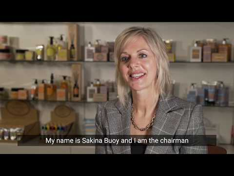 Meet Sakina Buoy, chairman and founder of The Somerset Toiletry Company