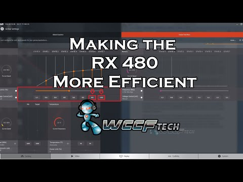 Radeon RX 480 Improve Efficiency Guide