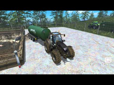 Manure slurry storage Transportation v1.0