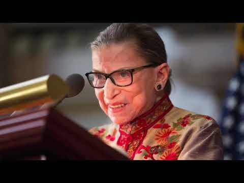 Justice Ruth Bader Ginsburg hospitalized after fracturing ribs in fall