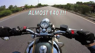 10. Royal Enfield Classic 500 TOP SPEED | 138-139KMPH | GoPro