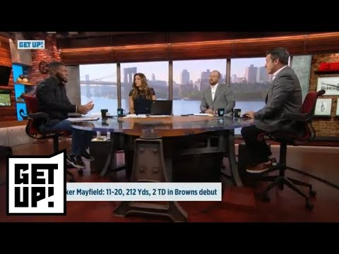 Baker Mayfield, Saquon Barkley's performance breakdown in NFL preseason | Get Up! | ESPN