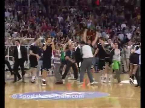 Cibona Partizan 0.6 seconds to win
