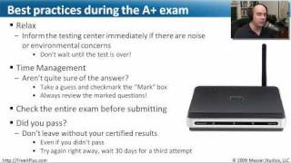 Professor Messer's Free CompTIA A+ Training Course Overview - Part 3 of 3 - CompTIA A+ 220-70x