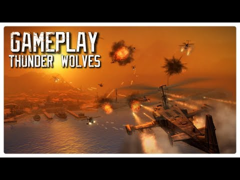 thunder wolves pc gameplay
