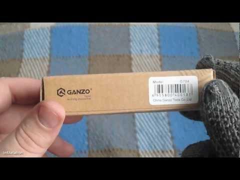 Відеоогляд ножа Ganzo G704