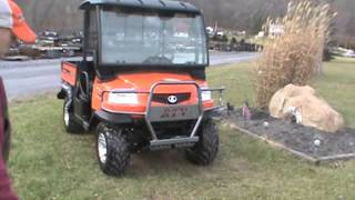 4. 2013 Kubota RTV900XT RTV900 ONLY 18 Hours Diesel 4x4 For Sale Nice