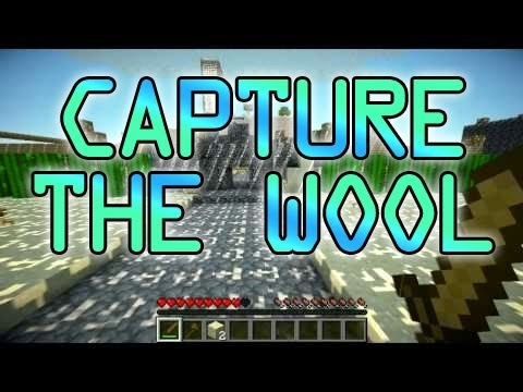 Minecraft: Capture The Wool - 5vs5 CTF - Mini-Game w/Mitch & Friends