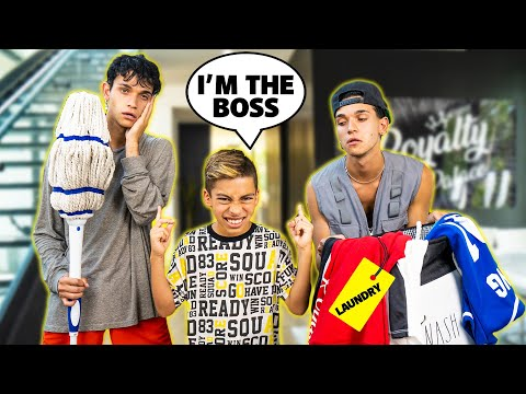 FERRAN Stays HOME ALONE With LUCAS And MARCUS! (BAD IDEA) | The Royalty Family