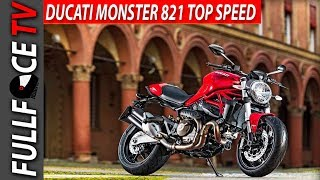 9. 2017 Ducati Monster 821 Specs and Review