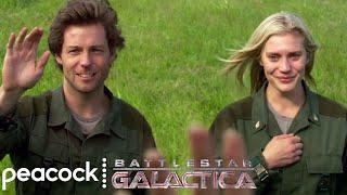 Battlestar Galactica | Starbuck and Lee's Last Goodbye