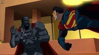 Video Four Superman's Fight at Lexcorp | Reign of the Supermen MP3, 3GP, MP4, WEBM, AVI, FLV Maret 2019