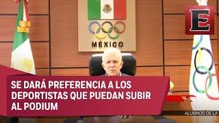 Carlos Padilla, Presidente del Comité Olímpico Mexicano, dio a conocer que el equipo mexicano irá incompleto a los Juegos Centroamericanos por falta de presupuesto.19 julio de 2017 COMENTA ESTE VIDEO Y COMPARTELO CON TUS AMIGOSPara más información entra: http://www.youtube.com/excelsiortvNo olvides dejarnos tus comentarios y visitarnos enFacebook: https://www.facebook.com/ExcelsiorMexTwitter: https://twitter.com/Excelsior_MexSitio: http://www.excelsior.com.mx/tvSuscríbete a nuestro canal: https://www.youtube.com/channel/UClqo4ZAAZ01HQdCTlovCgkA