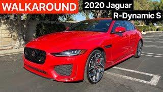 [ASMR] 2020 Jaguar XE P300 R-Dynamic S WALKAROUND + SOUND by MilesPerHr