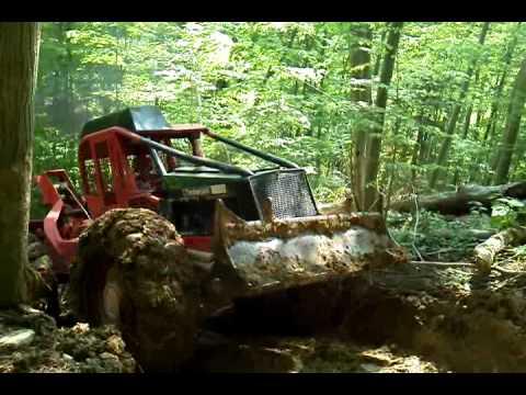 Deere 540d skidder logging timberjack 225 timberpro ts620e skidder