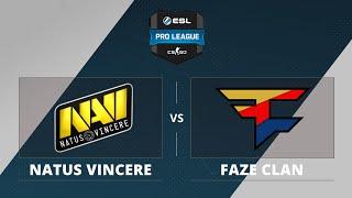 Na'Vi vs FaZe, game 1