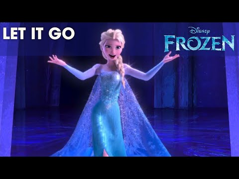 official disney - frozen: let it go (with lyrics)