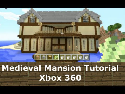 medieval mansion tutorial minecraft xbox 360 1 minecraft xbox massive