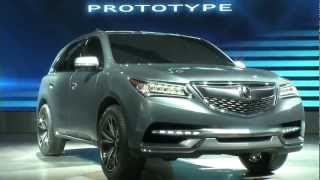 2014 Acura MDX Prototype Unveiled At The 2013 NAIAS