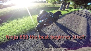 5. Ninja 650 a good beginner bike!?
