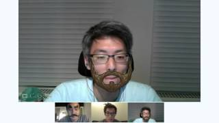 Wes, Ted and Phil are Testing Hangouts On Air!