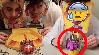 THE MOST DANGEROUS BANNED PIE FACE GAME CHALLENGE! | David Vlas