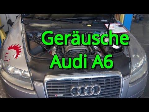 Geräusche Steuerkette beim Audi A6  - Wie checke ich den Motor?