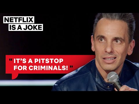 Sebastian Maniscalco Fears Gas Stations At Midnight   Netflix Is A Joke