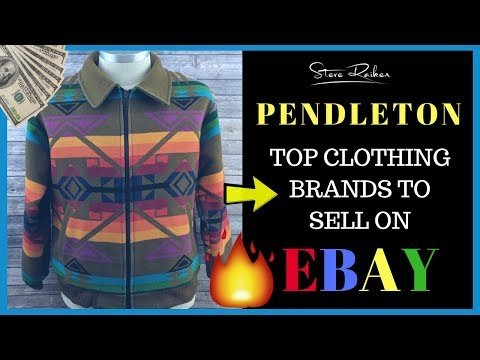 Huge PROFITS! Selling Pendleton CLOTHING On EBay From Thrift Stores 💰💰