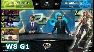 Video OpTic Gaming Academy vs Cloud 9 Academy | Week 8 of S8 NA Academy League Spring 2018 | OPTA vs C9A MP3, 3GP, MP4, WEBM, AVI, FLV Juni 2018