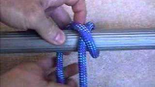 Boating knots: Clove Hitch