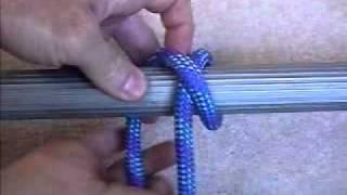 Boating knots: Clove Hitch