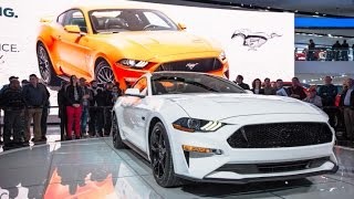 This is the 2018 Ford Mustang – a restyled, tweaked, and up-contented version of the pony car we've been enjoying since it ditched its stick axle back in 201...