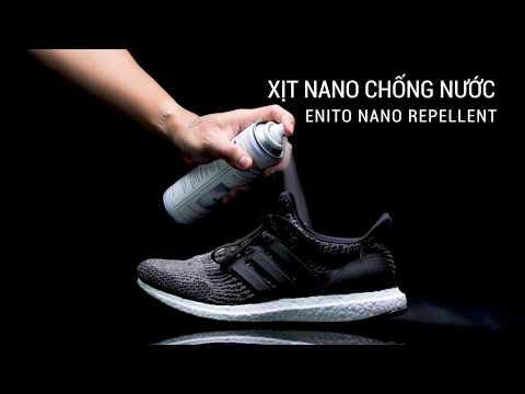 Review bình xịt nano chống nước cho giày Enito 250ml
