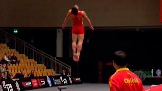 Video ЧМ по прыжкам на акробатической дорожке - 2015 (команды/мужчины) MP3, 3GP, MP4, WEBM, AVI, FLV Juni 2018