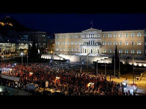 Μεγάλη συγκέντρωση και πορεία του ΚΚΕ κατά του ΝΑΤΟ