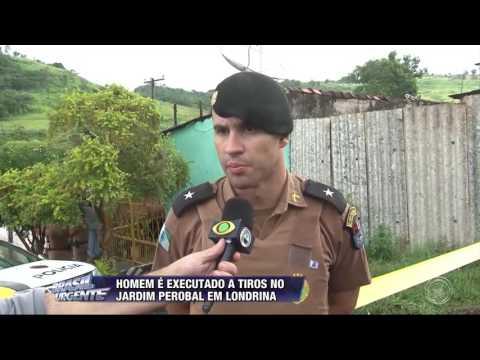 Homem é executado a tiros no jardim Perobal em Londrina